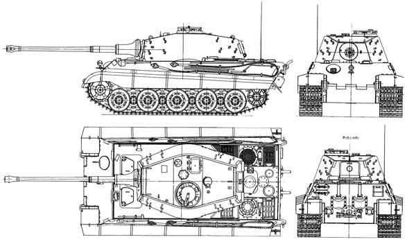 К октябрю 1942 Porsche